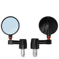 Accessori Italy Stuureind Spiegels Rond CNC Universeel Verstelbaar