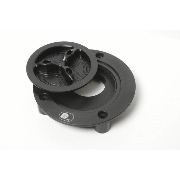 PP Tuning Tankdop zwart met Schroefsluiting  Ducati / MV Agusta Modellen