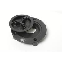 PP Tuning Tankdop Schroefsluiting Zwart Geanodiseerd / Aluminium Kleur Honda Modellen