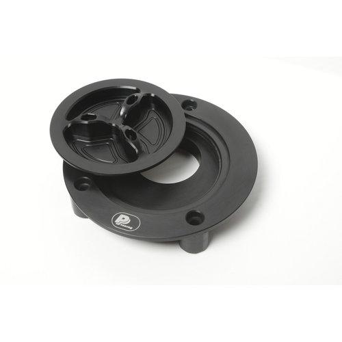 PP Tuning Tankdop zwart met Schroefsluiting Yamaha Modellen