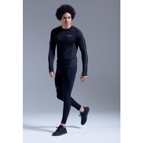 Point Zero Zero One .001 Mens Long Sleeve Functional Tee Polyester / cotton mix