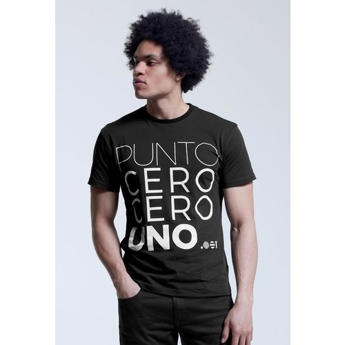 Point Zero Zero One .001 Mens Logo Tee - Spanish