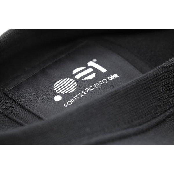 Point Zero Zero One .001 Mens Logo Tee - Spanish 100% pima katoen