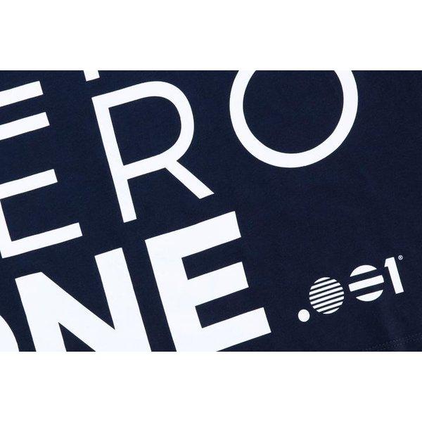 Point Zero Zero One .001 Womens Logo Tee 100% pima katoen