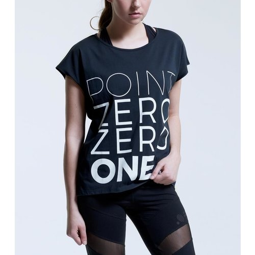 Point Zero Zero One .001 Womens Logo Tee