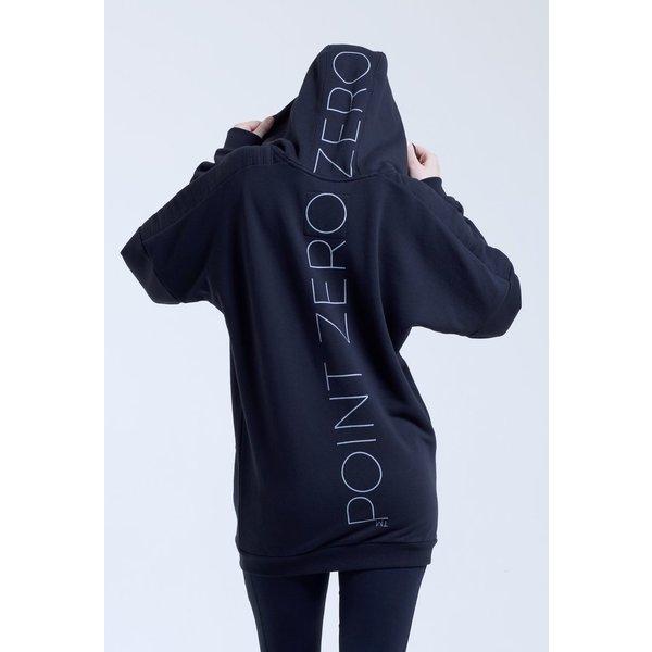 Point Zero Zero One .001 Womens Oversized Hoodie 100% pima katoen
