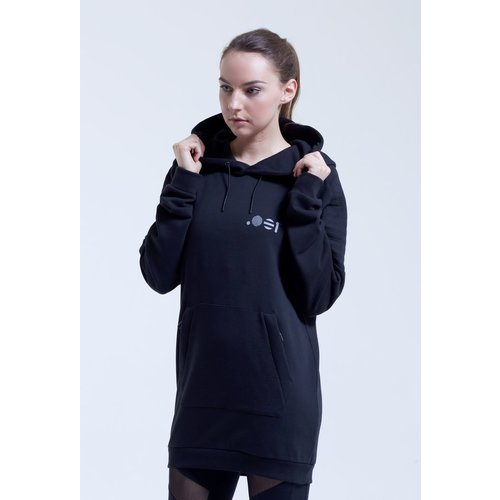 Point Zero Zero One .001 Womens Oversized Hoodie