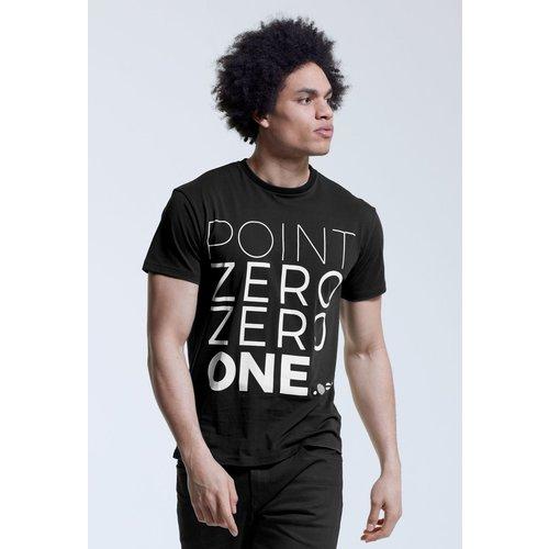 Point Zero Zero One .001 Mens Logo Tee - Englisch