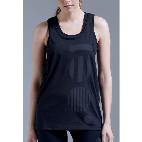 Point Zero Zero One .001 Womens Oversized Vest Polyester / Cotton mix
