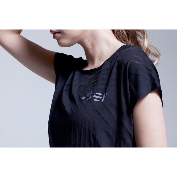 Point Zero Zero One .001 Womens Flow Viz Devore Tee Polyester / katoen Jerseymix