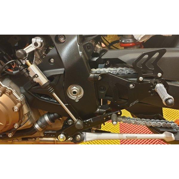 PP Tuning BMW S1000RR 2019 Verstelbaar Rem Schakelset