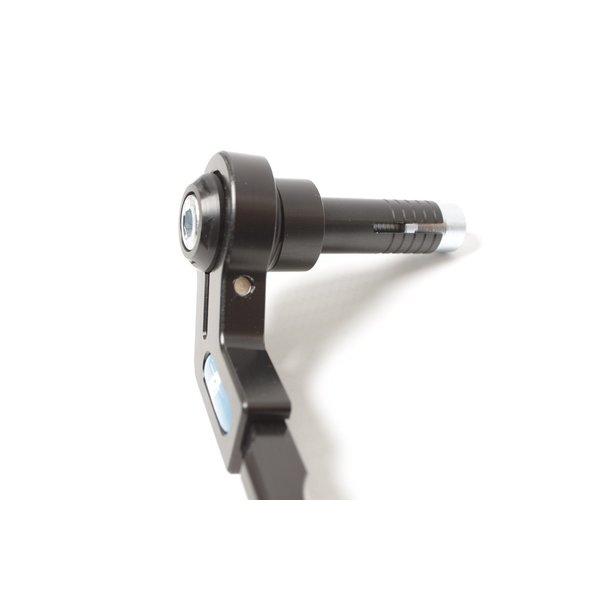 PP Tuning Rem beschermer Verstelbaar Adjustable zwart geanodiseerd Universeel