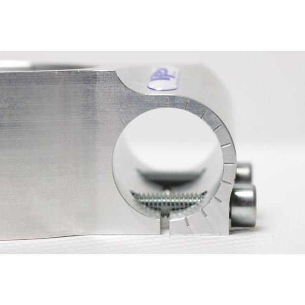 PP Tuning Clip-Ons Handlebars 50mm Type Verstelbaar Zwart Geanodiseerd