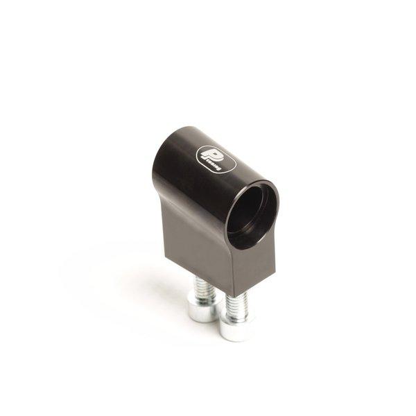 PP Tuning Clip-Ons Handlebars 50.8mm Type Verhoogd (Raised) 28mm Zwart Geanodiseerd