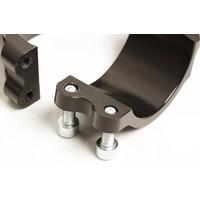 PP Tuning Clip-Ons Handlebars 52mm Type Sport Zwart Geanodiseerd Of Zilver