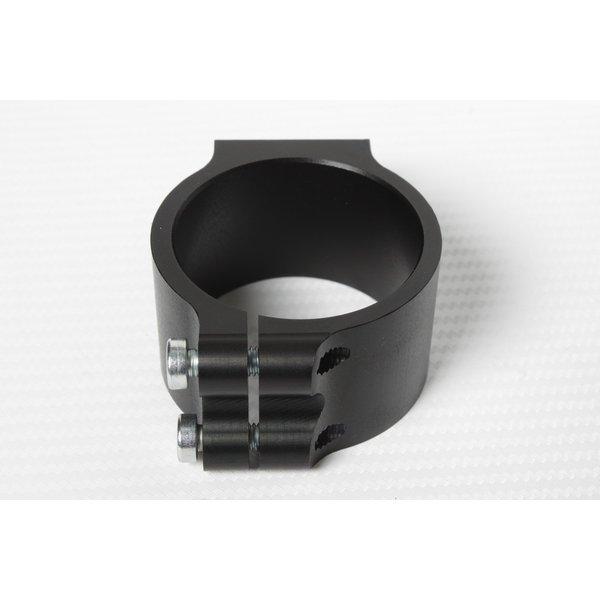 PP Tuning Clip-Ons Handlebars 55mm Type Verhoogd 28mm Zwart Geanodiseerd