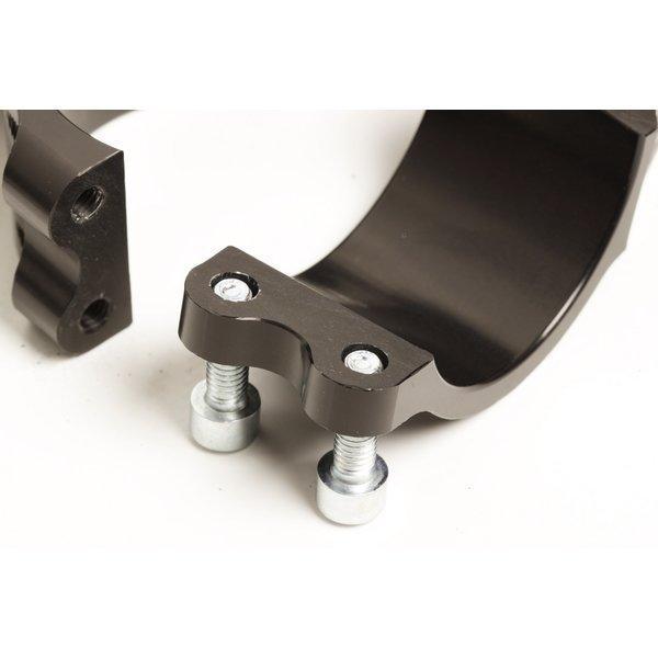 PP Tuning Clip-Ons Handlebars 45mm Type Sport Zwart Geanodiseerd Of Zilver
