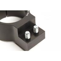 PP Tuning Clip-Ons Handlebars 43mm Type Verhoogd 28mm Zwart Geanodiseerd
