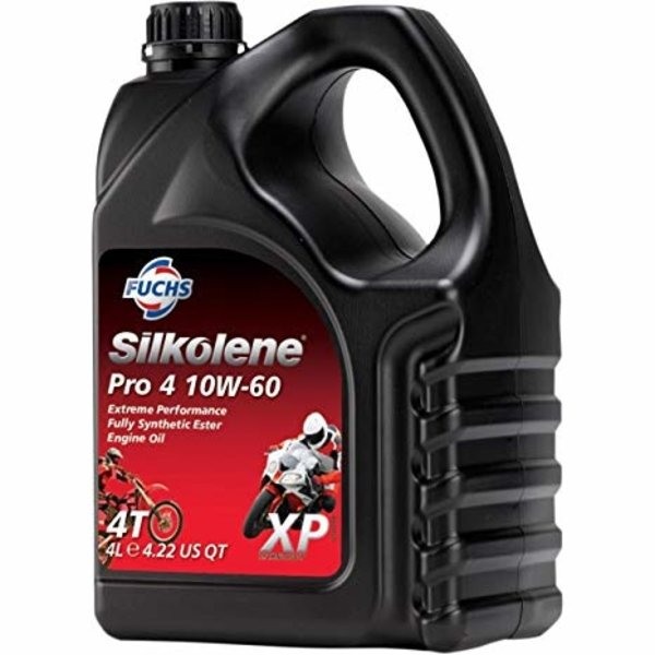 Fuchs Silkolene Pro 4 10W-60  Vol Synthetisch Motorolie 4L