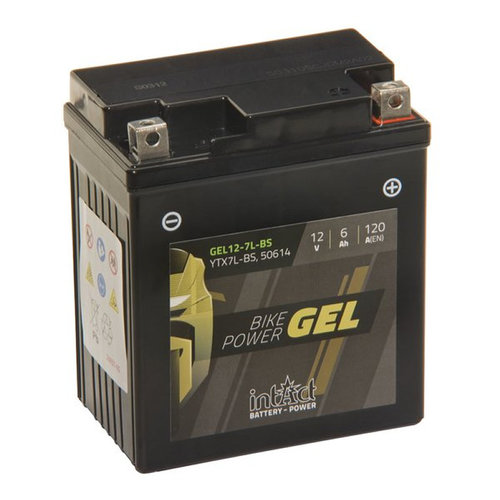 Intact Battery Gel 12-7L-BS YTX7L-BS 12V 6Ah