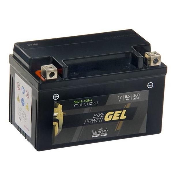 Intact Battery Motorfietsbatterij GEL YTZ10S 12V 8,5Ah Gel12-10B-4