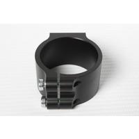 PP Tuning Clip-Ons Handlebars 53mm Type Verhoogd (Raised) 28mm Zwart Geanodiseerd