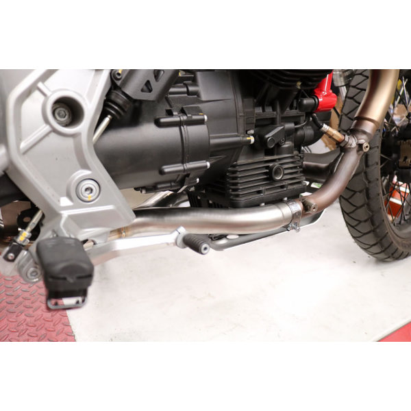 GPR Spruitstuk Decat Pipe Manifold Moto-Guzzi V85TT