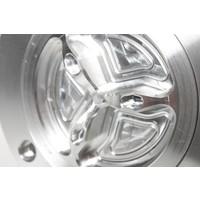 PP Tuning Tankdop Schroefsluiting Zwart Geanodiseerd / Aluminium Kleur Ducati / MV Agusta Modellen