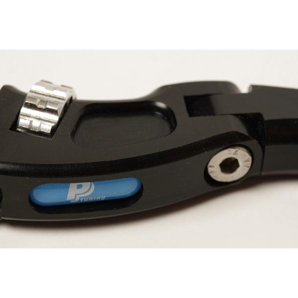 PP Tuning Koppelingshendel verstelbaar zwart geanodiseerd Part Nr.2043 Kawasaki Ninja 400