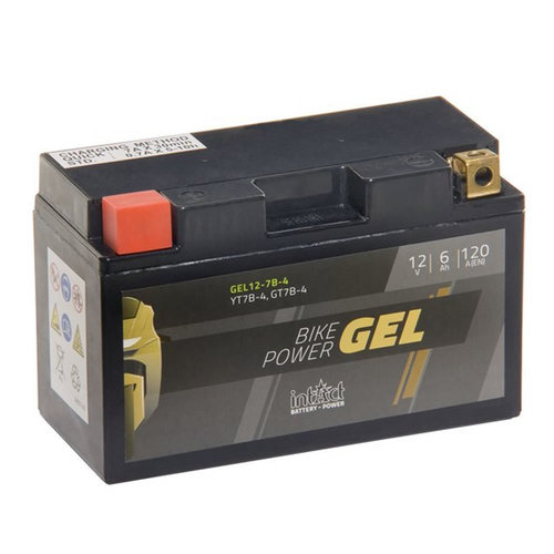 Intact Battery GEL YT7B-4 12V 6Ah Gel12-7B-4