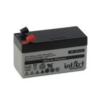 Intact Battery Block-Power BP12-1.2 12V 1,2Ah AGM batterij
