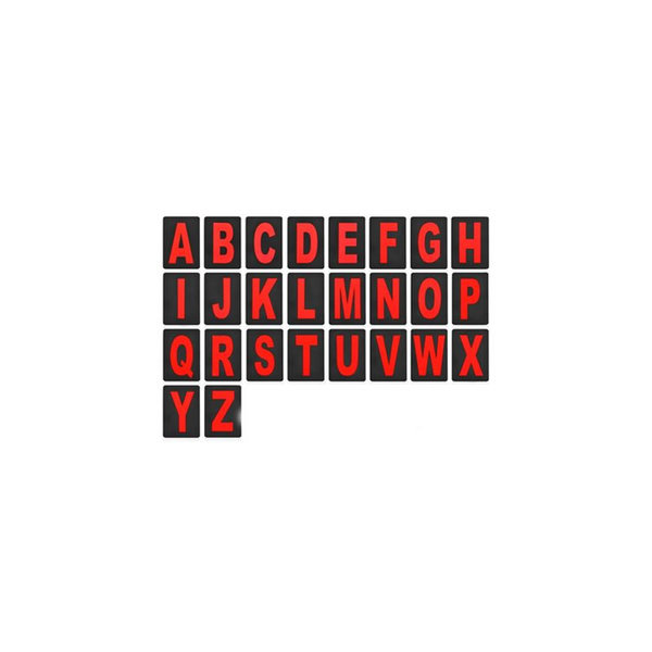Accessori Italy Pitbord Zwart met 36 nummers set