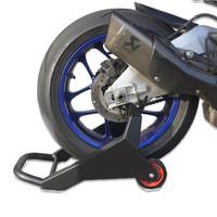 Accessori Italy GP Paddockstand Achterbrug lift zwart universeel MotoGP Uitvoering