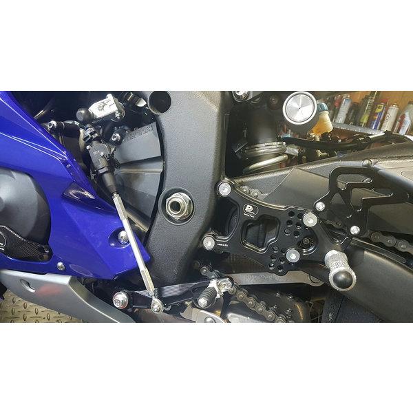 PP Tuning Yamaha R6 2017 Rem schakel Set met Reverse Shifting Full Race-Versie