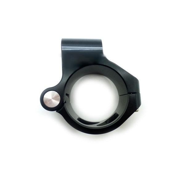 Accessori Italy Clip-Ons Handlebars 50mm Type Basic Endurance Zwart Geanodiseerd Of Goud