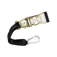 Accessori Italy 2 spanbanden met zwarte ratelspanner & Stuurstrop