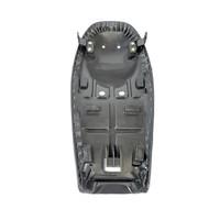 Accessori Italy Universeel Seat Cafe Racer Zwart Leder 64cm