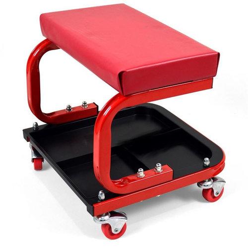 Accessori Italy Verrijdbare werkplaatskruk met magneet opbergbak