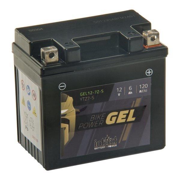 Intact Battery Motorfietsbatterij GEL YTZ7-S 12V 6Ah Gel12-7Z-S