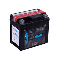 Intact Battery Motorfietsbatterij AGM YTX5L-BS 12V 4Ah 50412