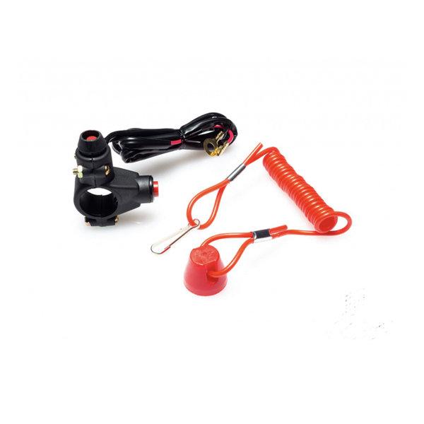 Accessori Italy Stuur Schakelaar / Kill Switch voor Stuurmontage 22mm