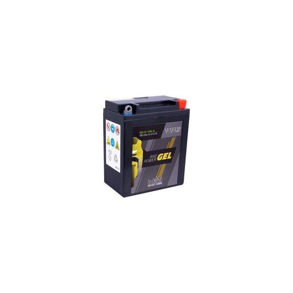 Intact Battery Motorfietsbatterij GEL Accu Intact Bike-Power GEL 12V 12Ah