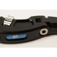 PP Tuning Koppelingshendel verstelbaar zwart geanodiseerd  Kawasaki Modellen