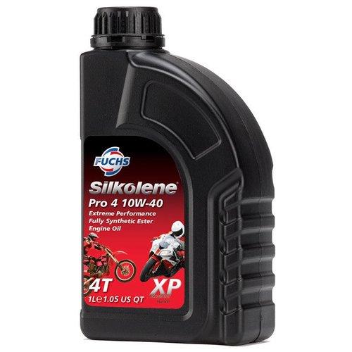 Fuchs Silkolene Pro 4 10W-30 Vol Synthetische Motorolie 1L