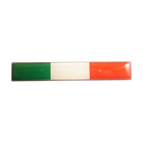 Accessori Italy Doming Tricolore 75x12mm