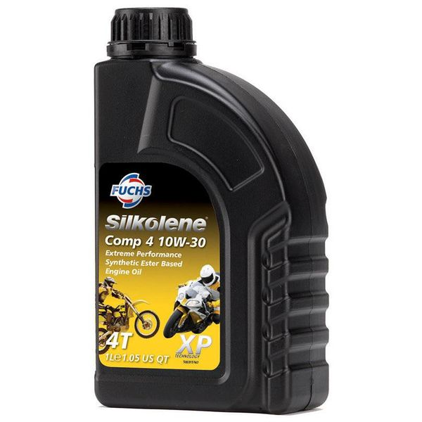 Fuchs Silkolene Comp 4 XP 10W-30 Ester basis Semi synthetische motorolie 1L
