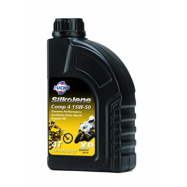 Fuchs Silkolene Comp 4 XP 15W-50  1L Ester basis Semi synthetische motorolie
