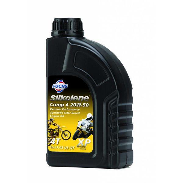 Fuchs Silkolene Comp 4 XP 20W-50 1L Ester basis Semi synthetische motorolie 1L