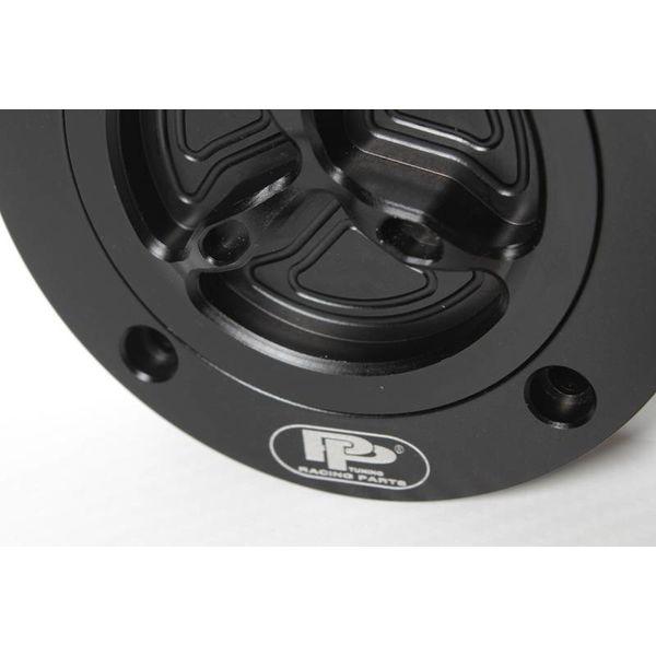 PP Tuning Tankdop zwart geanodiseerd met snelsluiting Suzuki Modellen