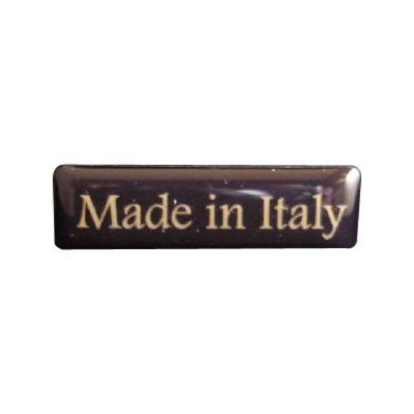 Accessori Italy 3D doming Made Intaly rechthoekig sticker